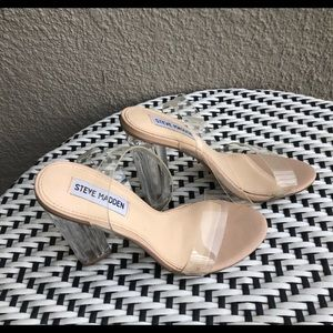 Steve Madden Shoes - Clear heels